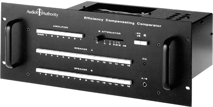 Model One Efficiency Compensating Comparator
