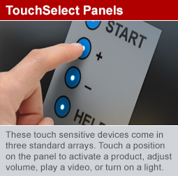 TouchSelect panels