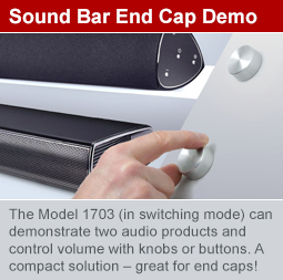 Compare two sound bars with 1703