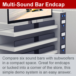 Multi-Soundbar Endcap