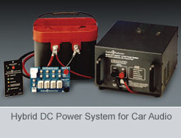 Hybrid DC Power System for Car Audio