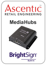 Audio Authority MediaHubs with BrightSign Built-In